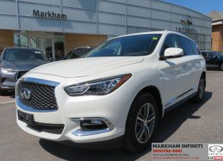 Used 2017 Infiniti QX60 Leather, Sunroof, Backup Camera for sale in Unionville, ON