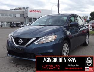 Used 2018 Nissan Sentra 1.8 SV STYLE PCKG|MOONROOF|ALLOYS|NOT A RENTAL for sale in Scarborough, ON