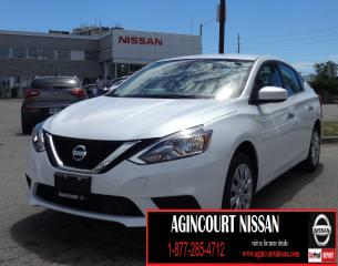 Used 2018 Nissan Sentra 1.8 SV BACKUP CAMERA|BLUETOOTH|ALLOYS|NOT A RENTAL for sale in Scarborough, ON