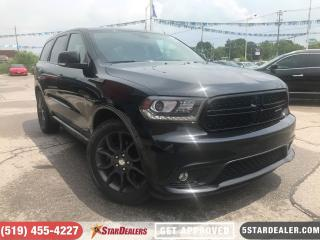 Used 2017 Dodge Durango R/T | HEMI | NAV | LEATHER | ROOF | DVD for sale in London, ON