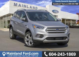 New 2018 Ford Escape Titanium for sale in Surrey, BC