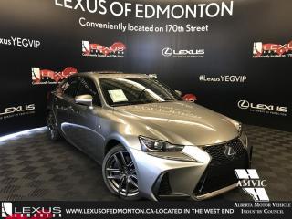 New 2018 Lexus IS 300 F SPORT SERIES 2 for sale in Edmonton, AB