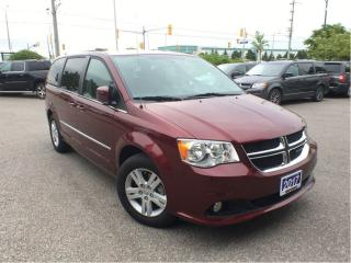 Used 2017 Dodge Grand Caravan CREW**LEATHER**POWER SLIDING DOORS** for sale in Mississauga, ON