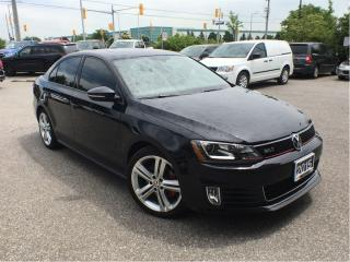 Used 2015 Volkswagen Jetta GLIBAHN*LEATHER*NAV*SUNROOF for sale in Mississauga, ON