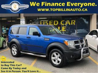 Used 2007 Dodge Nitro SXT 4X4, 2 Years Warranty for sale in Concord, ON