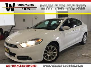 Used 2013 Dodge Dart Limited|NAVIGATION|SUNROOF|LEATHER|93,418 KMS for sale in Cambridge, ON