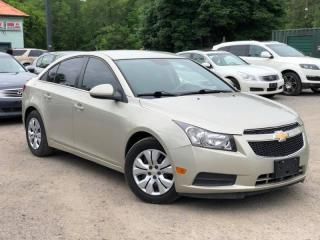 Used 2014 Chevrolet Cruze LT Power Group Bluetooth A/C for sale in Newmarket, ON
