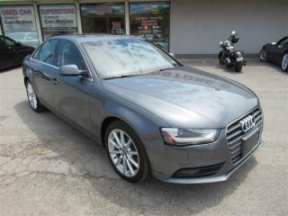 Used 2014 Audi A4 PROGRESSIV | LTHR  | HTD SEATS | NAVI | SUNROOF for sale in Oakville, ON