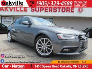 Used 2014 Audi A4 PROGRESSIV   LTHR    HTD SEATS   NAVI   SUNROOF for sale in Oakville, ON