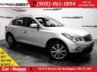 Used 2014 Infiniti QX50 Journey| AWD| SUNROOF| BACK UP CAMERA| for sale in Burlington, ON