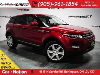 Used 2015 Land Rover Evoque Pure Plus| NAVI| PANO ROOF| LOW KM'S| for sale in Burlington, ON