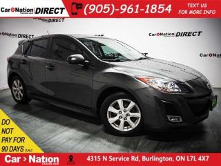 Used 2011 Mazda MAZDA3 Sport GS| LOW KM'S| LEATHER| SUNROOF| for sale in Burlington, ON