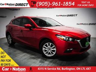 Used 2017 Mazda MAZDA3 Sport GS| SUNROOF| BACK UP CAMERA| PUSH START| for sale in Burlington, ON