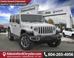 New 2018 Jeep Wrangler Unlimited Sahara for sale in Abbotsford, BC