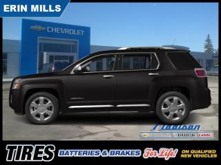 Used 2015 GMC Terrain Denali  AWD 6 Cyl Navi Sunroof Leather for sale in Mississauga, ON