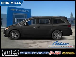 Used 2015 Honda Odyssey Touring  SUNROOF LEATHER NAVI DVD 8 PASS for sale in Mississauga, ON