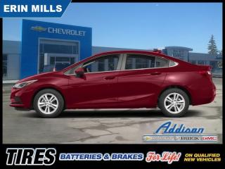 Used 2018 Chevrolet Cruze LT  - Bluetooth -  Heated Seats for sale in Mississauga, ON