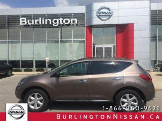 Used 2009 Nissan Murano SL, PWR. TAILGATE, PANAROOF, ACCIDENT FREE ! for sale in Burlington, ON