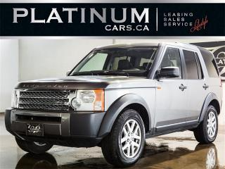 Used 2007 Land Rover LR3 SE, 7 PASSENGER, PANO ROOF, HEATED LEATHER for sale in North York, ON