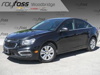 Used 2016 Chevrolet Cruze LT 1LT BACKUP CAM, BLUETOOTH for sale in Woodbridge, ON