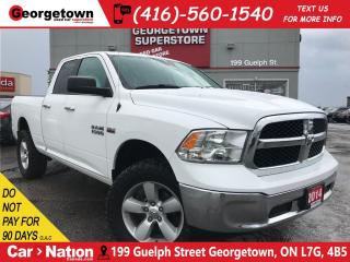 Used 2014 RAM 1500 SLT | QUADCAB | 4X4 | 5.7L V8 | 6 PASS for sale in Georgetown, ON