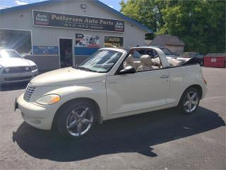Used 2005 Chrysler PT Cruiser GT CONVERTIBLE 139K TURBO SAFETIED GT for sale in Madoc, ON