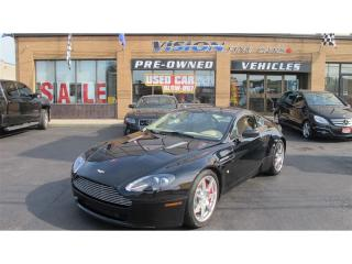 Used 2006 Aston Martin Vantage Vantage V8/CLEAN CAR PROOF/NAVIGATION for sale in North York, ON