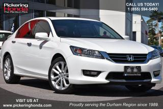 Used 2015 Honda Accord Touring V6 Navigation|Leather Upholstery|Adaptive Cruise Control for sale in Pickering, ON