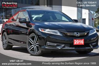 Used 2016 Honda Accord Coupe L4 Touring CVT for sale in Pickering, ON