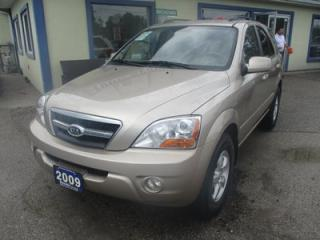 Used 2009 Kia Sorento 'GREAT VALUE' LX EDITION 5 PASSENGER 3.3L - V6.. 4X4.. HEATED SEATS.. NAVIGATION.. TOUCH SCREEN.. CD/AUX INPUT.. for sale in Bradford, ON