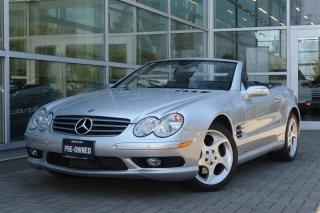Used 2005 Mercedes-Benz SL500 *Rare*Low Kms* for sale in Vancouver, BC