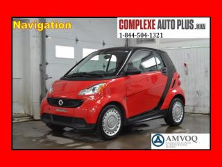 Used 2015 Smart fortwo Pure Navigation/gps for sale in Saint-jerome, QC