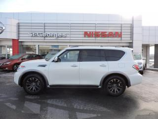 Used 2018 Nissan Armada Platinum 4x4 for sale in St-Georges, QC
