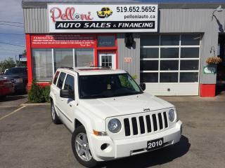 Used 2010 Jeep Patriot NORTH 4X4 SUNROOF for sale in London, ON