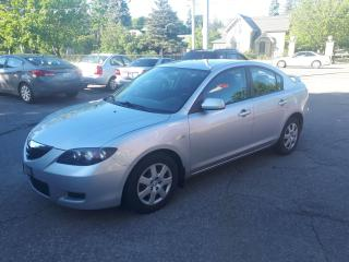 Used 2007 Mazda MAZDA3 GX w Navigation + Remote Start for sale in Guelph, ON