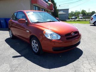 Used 2009 Hyundai Accent GL for sale in Mascouche, QC