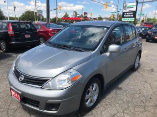 Used 2011 Nissan Versa 1.8 SL l Alloys l AC l Hatch for sale in Waterloo, ON