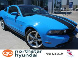 Used 2010 Ford Mustang GT MANUAL/LEATHER/GLASSROOF for sale in Edmonton, AB