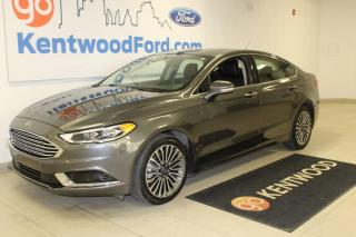 Used 2018 Ford Fusion 3 mos Referral *oac | LEATHER | SE | All Wheel Drive | Navigation for sale in Edmonton, AB