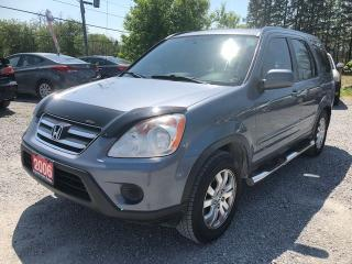 Used 2006 Honda CR-V SE LEATHER SUNROOF AWD for sale in Gormley, ON