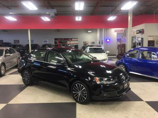 Used 2014 Volkswagen Jetta 1.8 TSI HIGHLINE AUT0 NAVI LEATHER BACK UP CAM SUN for sale in North York, ON