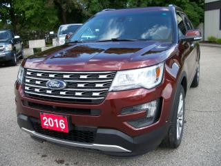 Used 2016 Ford Explorer LIMITED for sale in Stratford, ON