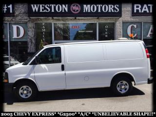 Used 2005 Chevrolet Express G2500*A/C*READY FOR WORK!!* for sale in York, ON