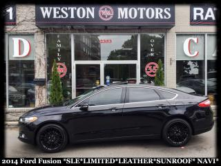 Used 2014 Ford Fusion SEL* LIMITED* SUNROOF* LEATHER* NAVI for sale in York, ON