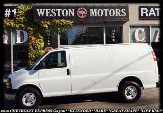 Used 2012 Chevrolet Express G2500*RARE*A/C*GREAT SHAPE!!* for sale in York, ON