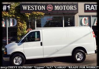 Used 2013 Chevrolet Express G3500*A/C*CARGO*READY FOR WORK*PRICED TO SELL!* for sale in York, ON