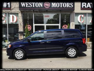 Used 2015 Dodge Grand Caravan BTOOTH*PWR GRP*FAMILY MOVER!!*A MUST SEE!!* for sale in York, ON