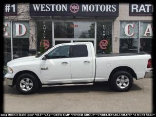 Used 2013 Dodge Ram 1500 SLT*4X4*CREWCAB*PWR GRP*UNBELIEVABLE!!!* for sale in York, ON