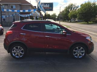 Used 2016 Buick Encore Leather AWD for sale in Dunnville, ON