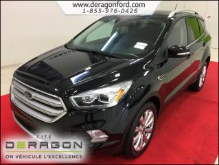 Used 2018 Ford Escape Titanium AWD for sale in Cowansville, QC